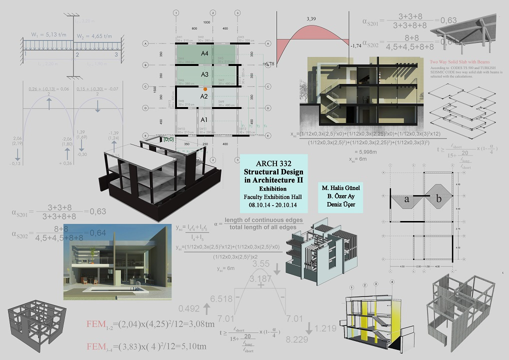 EXHIBITION PROJECTS. ARCH331: Structural Design In Architecture I